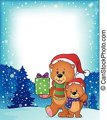 björnar, jul