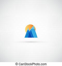 bjerg, ikon