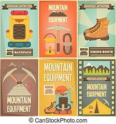 bjerg klatre
