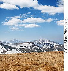 bjerg landskab