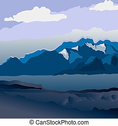 Bjerg, Landskab