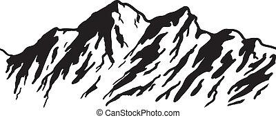 bjerg rækkevidde