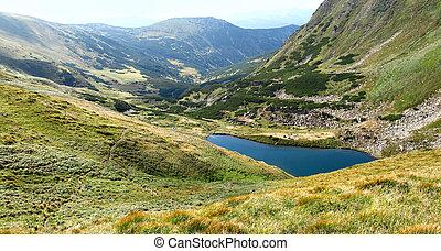 Bjerge, Øje