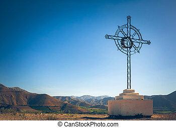 bjerge, kors, katolsk