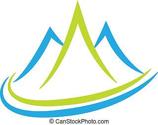 Bjerge,  logo