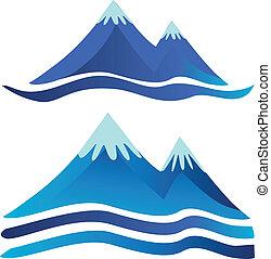 bjerge, logos
