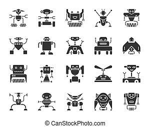 bk, 2, robots, silh