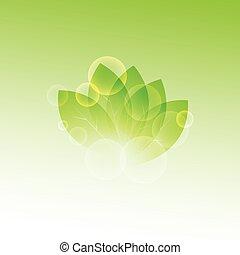 blätter, höhepunkte, frisch, sommer, grün, zweig