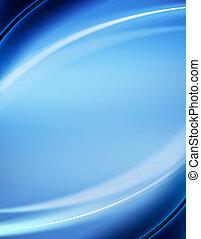blå, abstrakt, baggrund