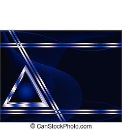 blå, affär, kunglig, mall, silver, kort