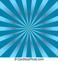 blå, affisch, stråle, stjärna