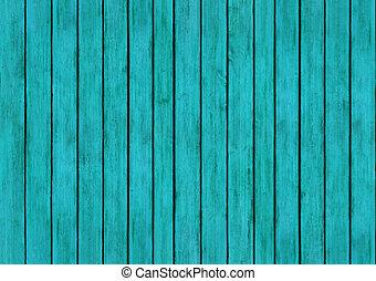 blå, aqua, ved, paneler, design, struktur, bakgrund
