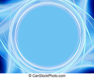 blå baggrund