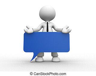 blå, bord