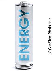 blå, energi