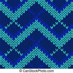 blå, färg, stil, seamless, mönster