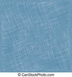 blå, fabric., naturlig, vävnad, bakgrund., vektor, bomull
