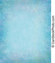blå, grunge, bakgrund
