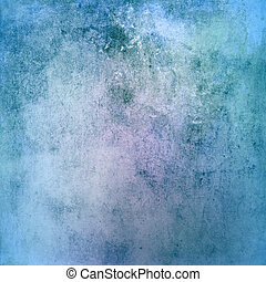 blå, grunge, struktur, bakgrund
