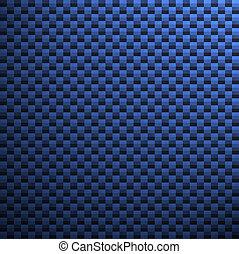 blå, kol, fiber