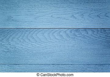 blå, målad, ved, bakgrund