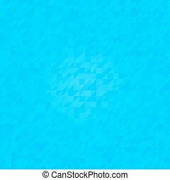 blå, mönster, seamless, triangulär