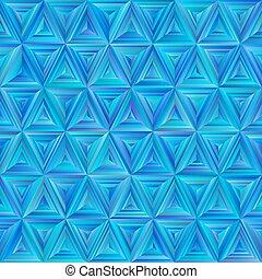 blå, mönster, seamless, triangulate