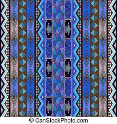 blå, matta, design