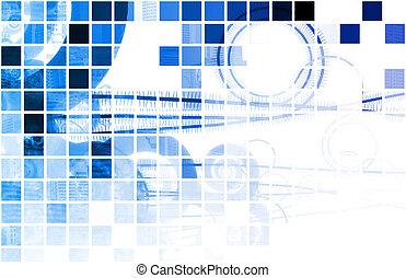 blå, medicinsk videnskab, teknologi