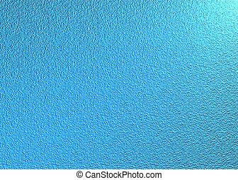 blå, metallisk
