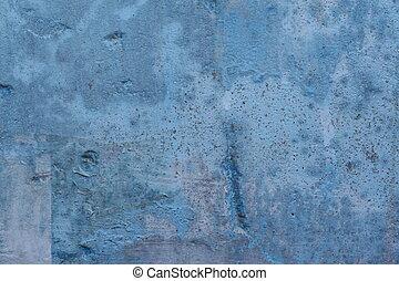 blå mur, baggrund