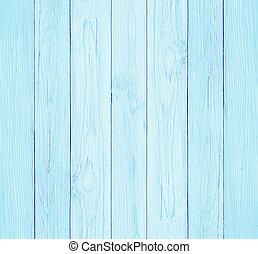 blå, pastell, vägg, färga, struktur, trä, bakgrund