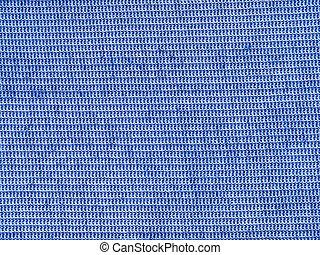 blå, pattern., tyg, struktur, bomull