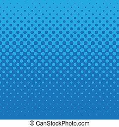 blå, punkt, mönster