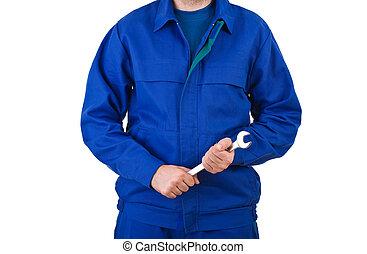 blå seldon, worker.
