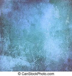 blå, skum fond, struktur, årgång