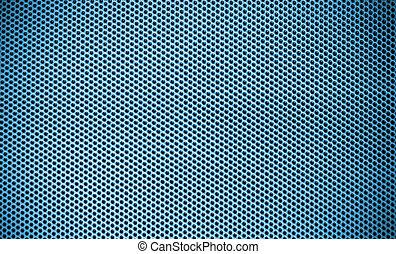blå, stål, avskärma, struktur, maska, bakgrund