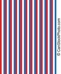 blå, stri, vektor, eps8, hvid rød