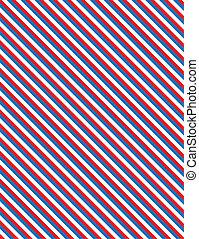 blå, stri, vektor, eps8, vit röd