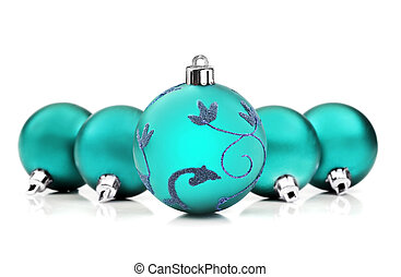 blå, struntsak, utrymme, text, bakgrund, vit jul
