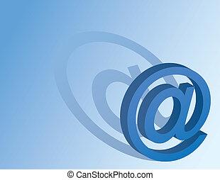 blå, symbol, bakgrund