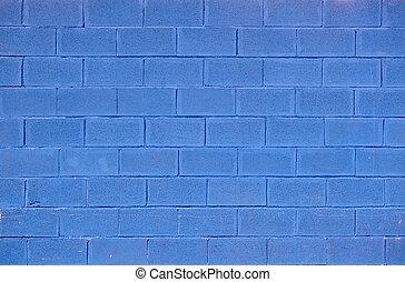 blå, tegelsten, bakgrund