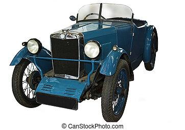 blå, typ, mg, 1930, m