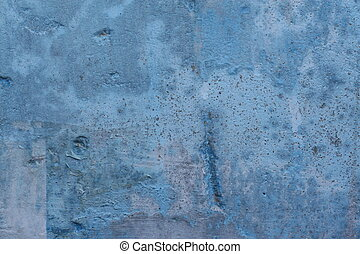 blå vägg, bakgrund