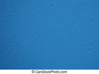 blå vägg, djup, struktur