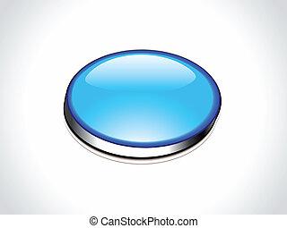 blå, væv, abstrakt, knap