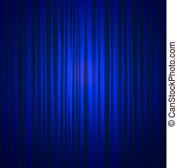 blåa siden, gardin, bakgrund