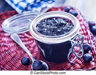 blåbär, marmelad