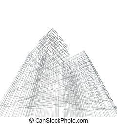 blåkopia, arkitektur