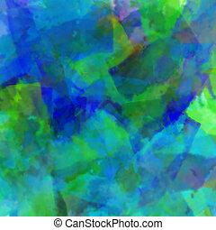 blåttar och gräsplan, målad, mönster
